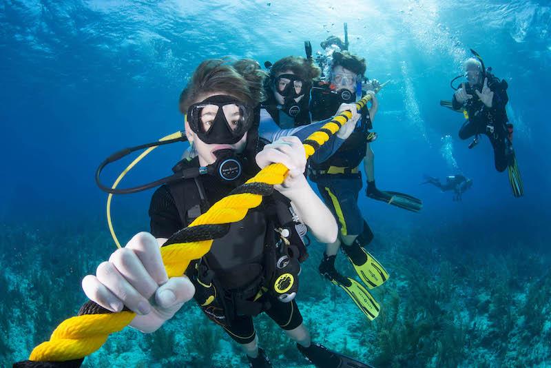 TIDES, marine science, education, field work, application, belize